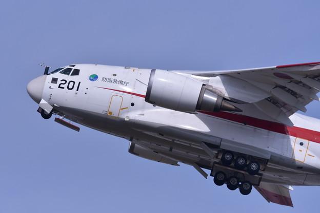 岐阜基地航空祭。。度でかい機体。。迫力の上がりXC-2