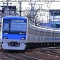 撮って出し。。今は小田急の主力通勤車 4000系。。2月11日