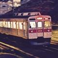 撮って出し。。ナイト撮影 東急田園都市線 8500系。。2月11日