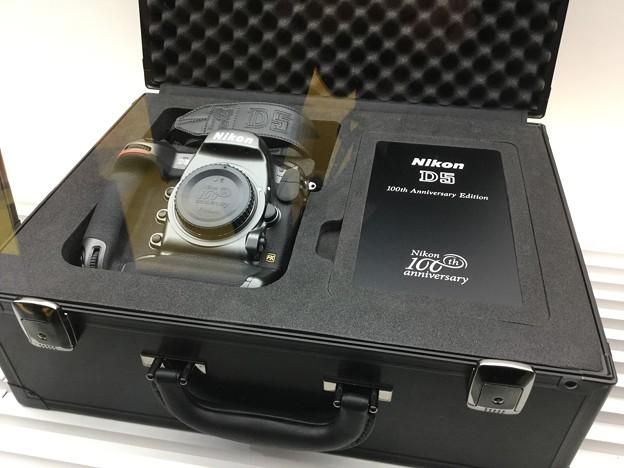 撮って出し。。CP+ Nikonブース Nikon100周年記念モデルD5。。2月26日