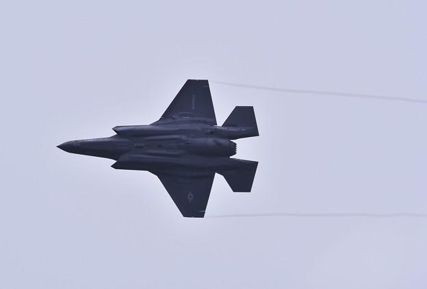 岩国基地。。2回目のローカルからブレイク。。ステルス戦闘機F-35B 20170208