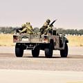 Photos: 木更津航空祭。。装甲車を下ろして援護へ。。(^^)