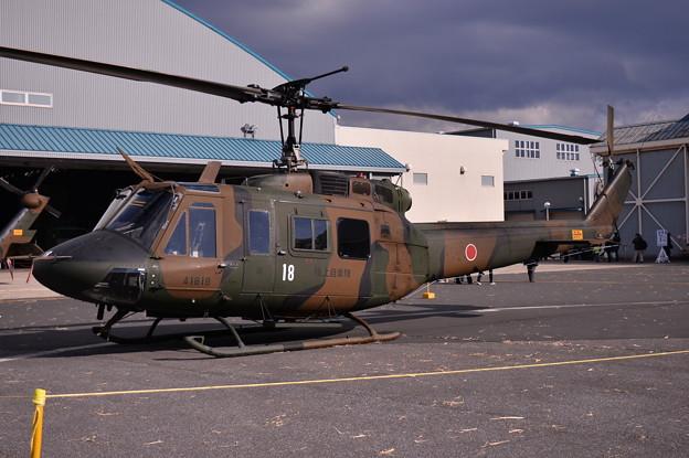 木更津航空祭。。UH-1ヒューイ地上展示