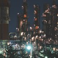 Photos: 水江町の工場夜景。。力強さを感じて 20170304