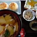 Photos: ひっつみ定食(道の駅・石鳥谷【岩手】)