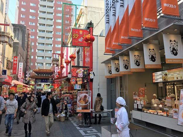 神戸南京街 屋台と料理 (2)
