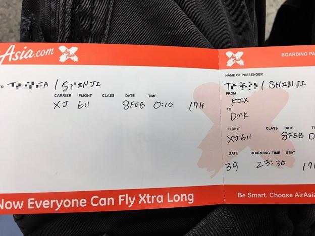 関西空港 エアアジアの混乱 (1)