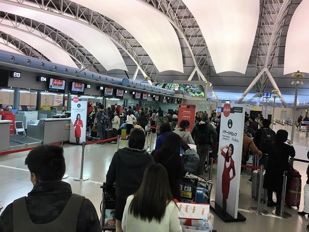 関西空港 エアアジアの混乱 (3)