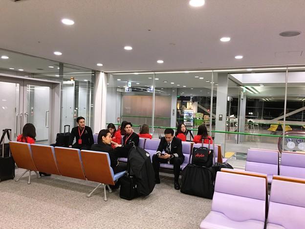関西空港 エアアジアの混乱 (6)