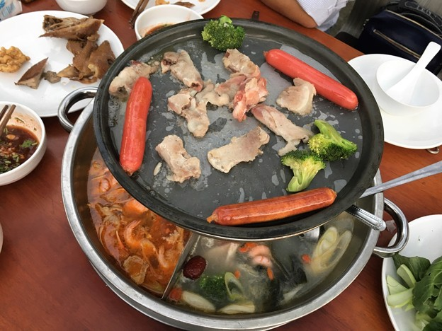 ヤンゴン 四川火鍋って四川っぽくないぞななんちゃってな高級?レストラン(笑) (7)