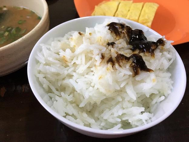 ポウサン米の朝ごはん (2)
