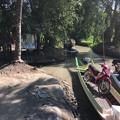 写真: 秘境ツアーの様な水路移動 水位の高低差に愕然 (17)