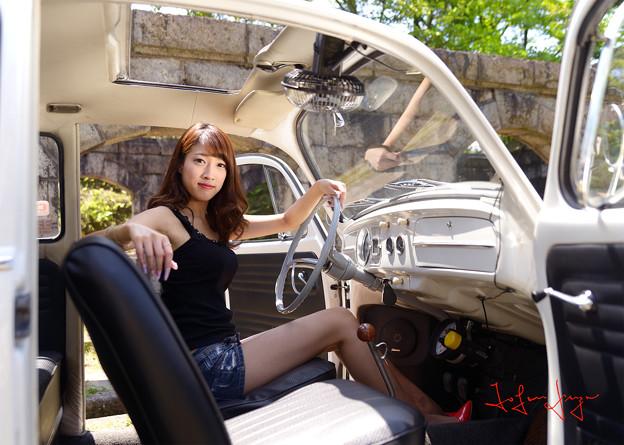 写真: 七海ワーゲン運転席S