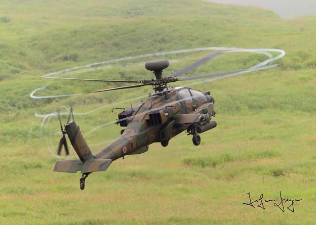 AH-64D後背面