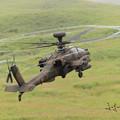 写真: AH-64D後背面