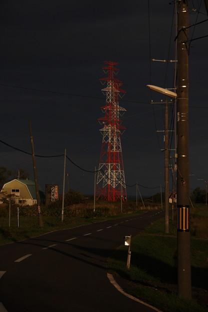 鉄塔のある光景