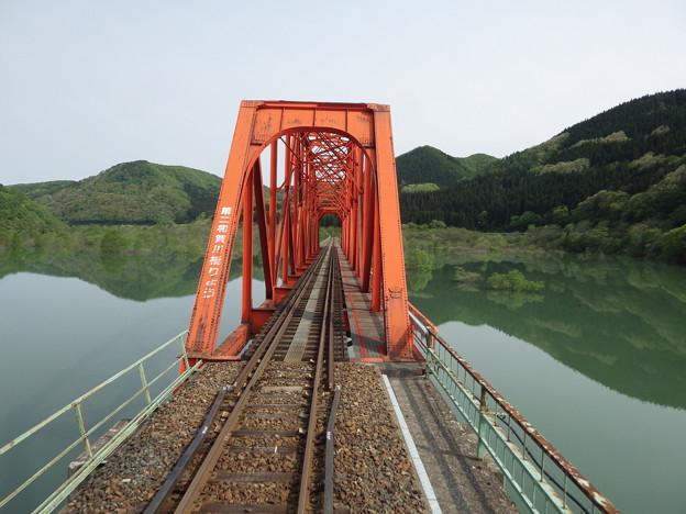 『蔵出し』 錦秋湖と第二和賀川橋梁