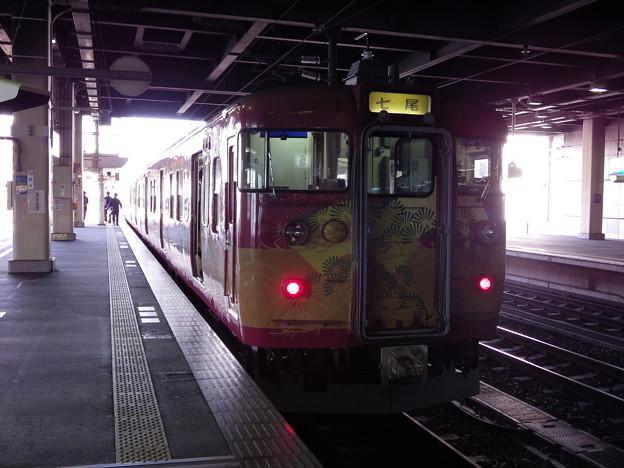 『蔵出し』 金沢駅~七尾行き415系・国宝長谷川等伯号 vol.1
