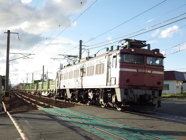 EF81‐748牽引 1658レ vol.2