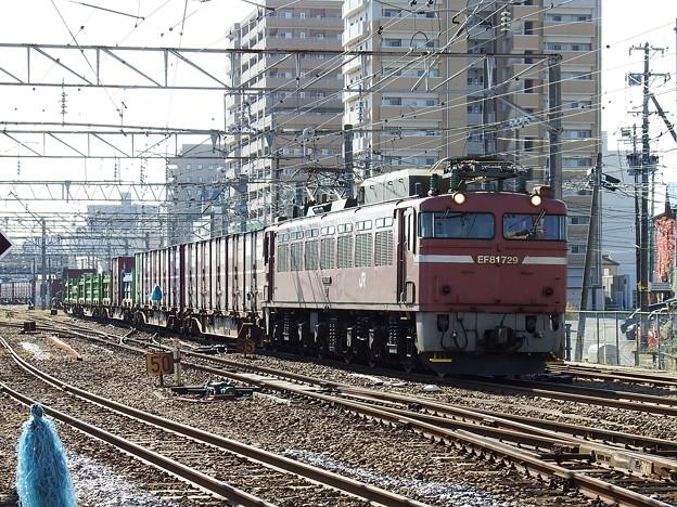 EF81‐729牽引 2093レ vol.3
