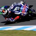写真: #99 ホルヘ・ロレンソ選手 Movistar Yamaha MotoGP
