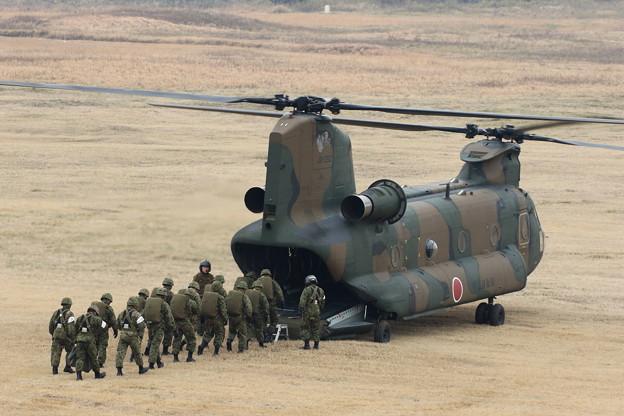降下訓練始め1 CH-47
