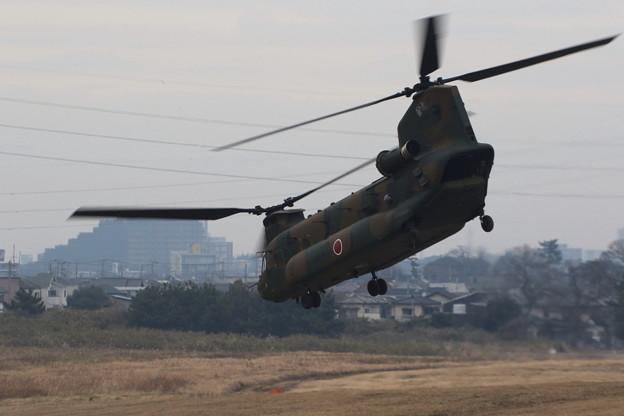 降下訓練始め2 CH-47