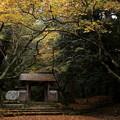 写真: 百済寺赤門