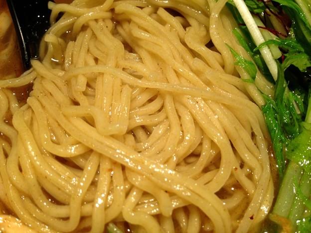 らぁめん(塩) 麺アップ