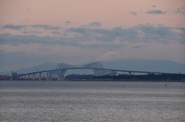 ゲートブリッジと富士山 その1