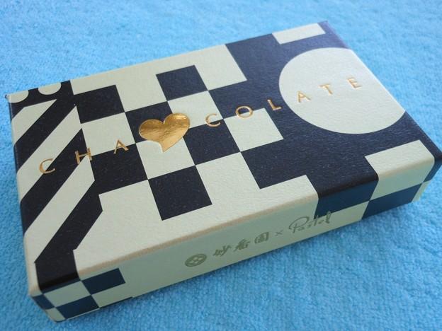 妙香園×Pastel 茶コレート1