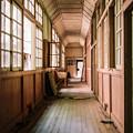 Photos: 長い廊下