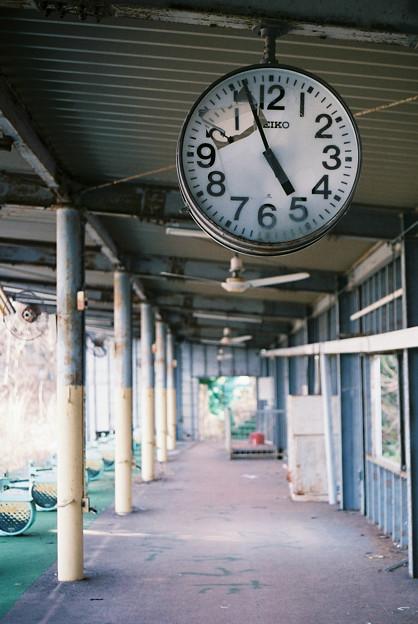 写真: 止まった時間