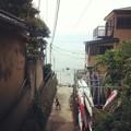 写真: 路地裏風景