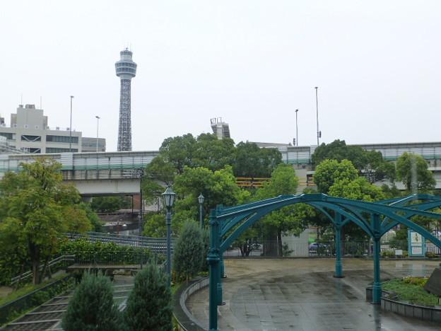 横浜フランス山からの眺め