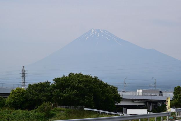 国道1号からの富士山