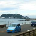 ホームからの江ノ島