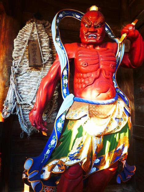 中山寺 金剛力士 阿形像