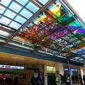 ステンドグラス 花の郷 @JR熱海 駅前広場