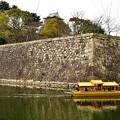 大阪城の内壕を巡る 大阪城御座船