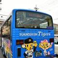 駅と会場を結ぶシャトルバス@深江駅
