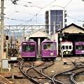 Photos: 阪急との乗り継ぎがスムーズになった 嵐電西院(さい)駅