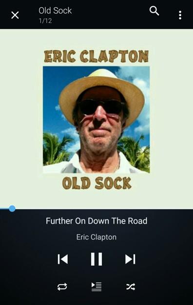 おはよー!エリック・クラプトン聴きながらツーキン!!