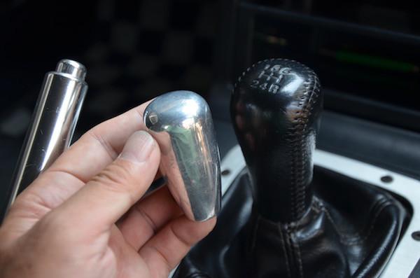 VRリミテッドのアルミ製シフトノブ