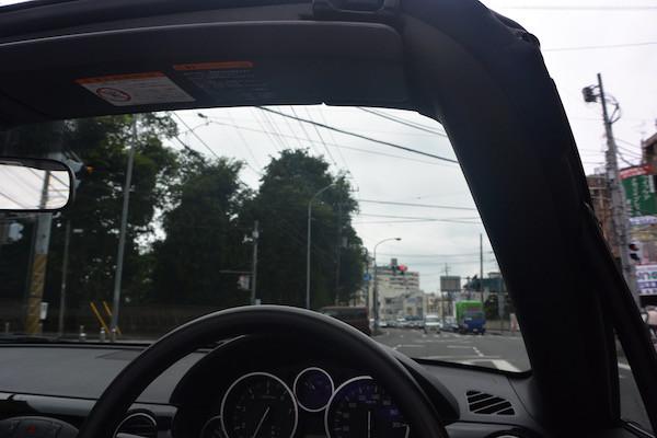 NCロードスターを初運転