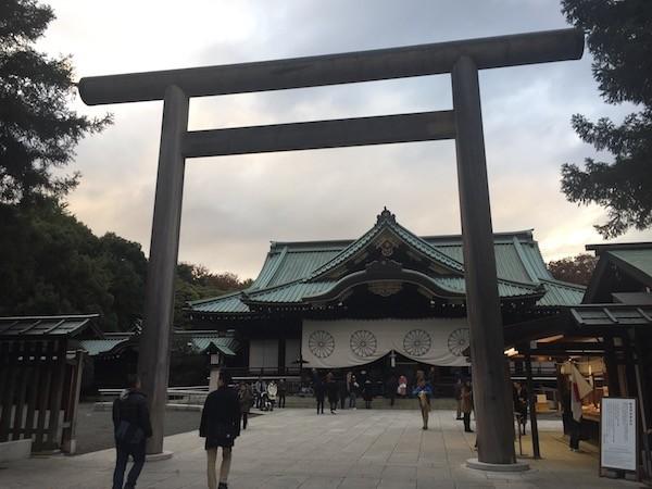 靖国神社に参拝するのは初めて