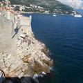 Photos: 断崖絶壁のビーチ