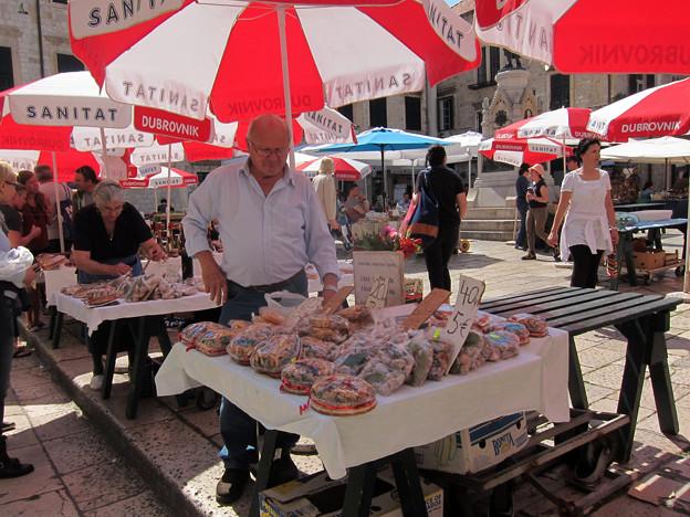 広場の市場