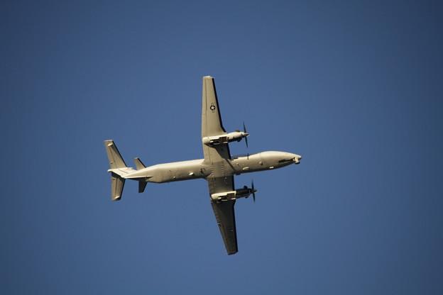 写真: 米軍機