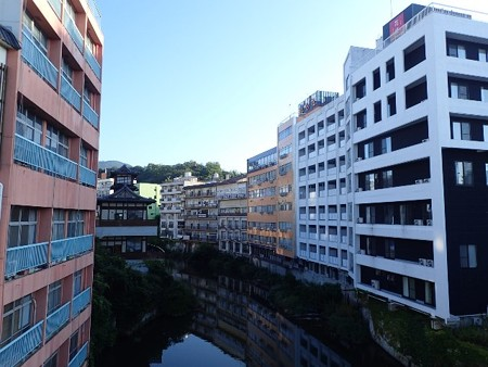 28 8 福島 飯坂温泉 温泉街